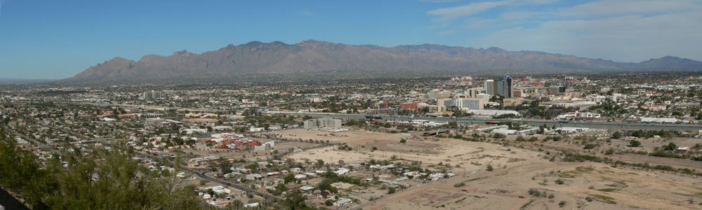 Tucson from A-Mountain