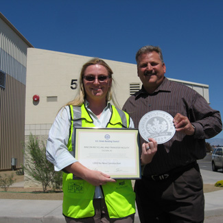 Waste Management LEED Gold Certified Rincon Transfer Station