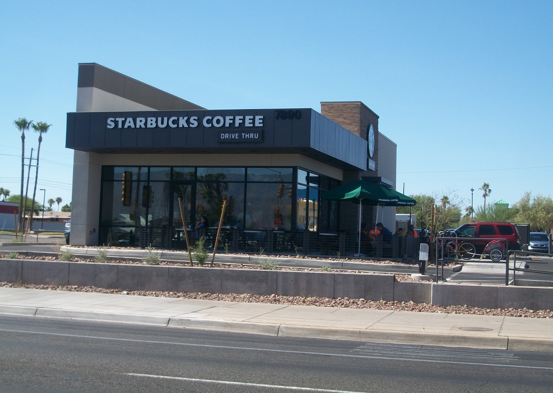 Starbucks at speedway and pantano perry engineering