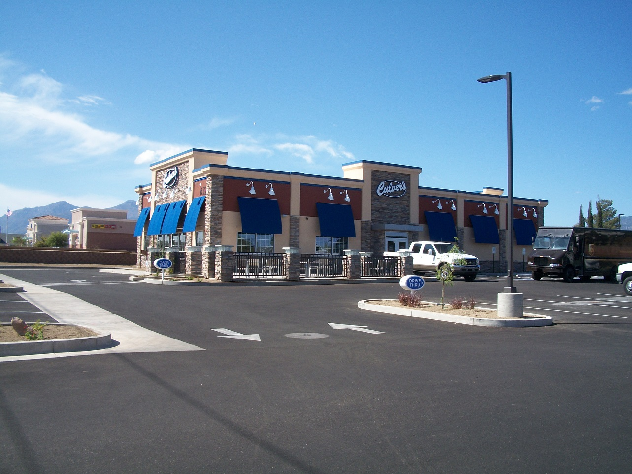 Culvers Developed Condition